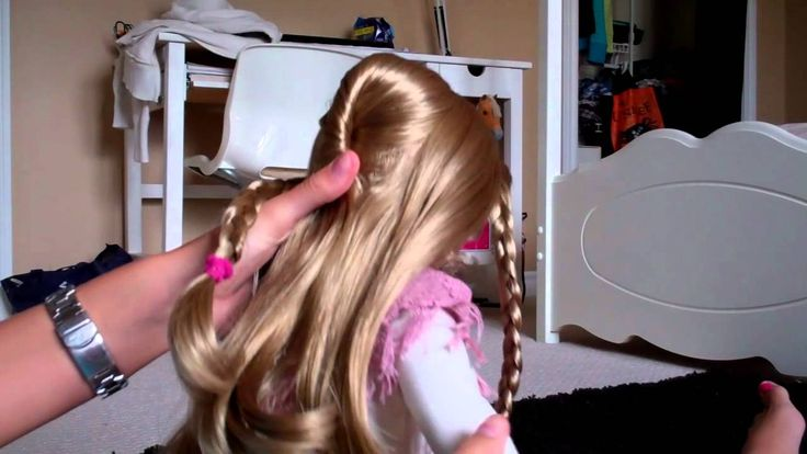 How to do a Adele Hairstyle on your Ag Doll - YouTube