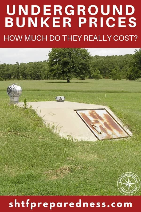 Underground Bunker Prices: How Much Do They Really Cost
