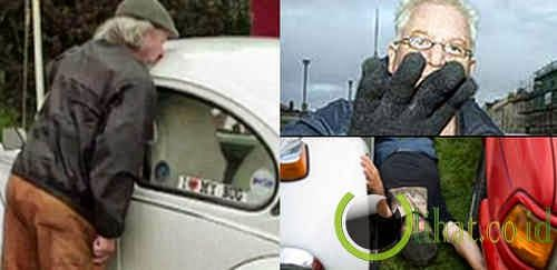 4 Orang Aneh Bersetubuh dengan Kendaraan