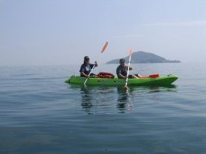 Taboga Island Panama kayaking