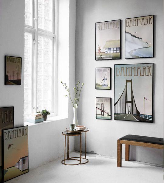 Brass tables from Jens Lyngsøe Interieur  ViSSEVASSE Lookbook 2015