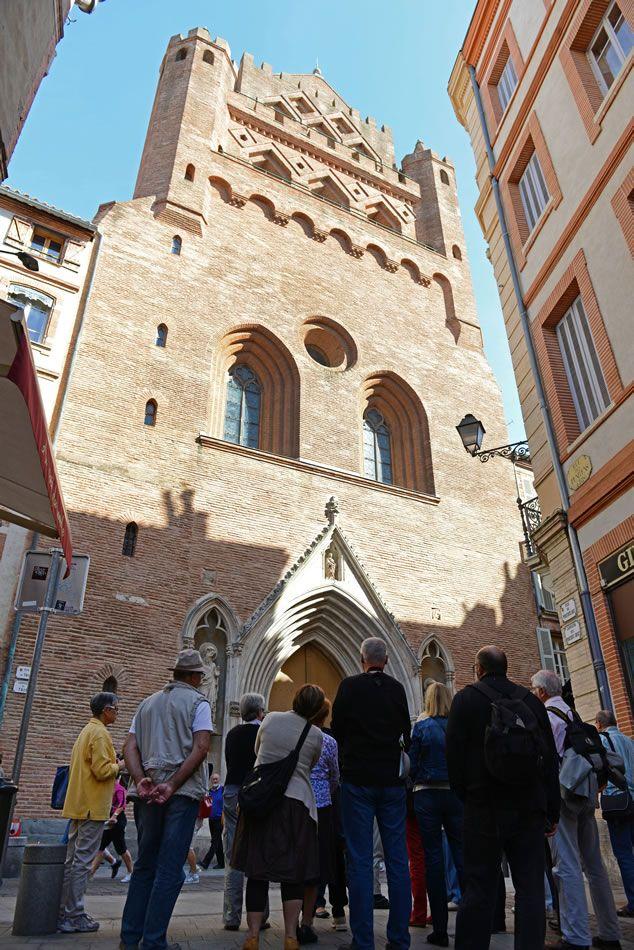 Notre-Dame du Taur, près de la place du Capitole à #Toulouse. © K. LheÌ�mon