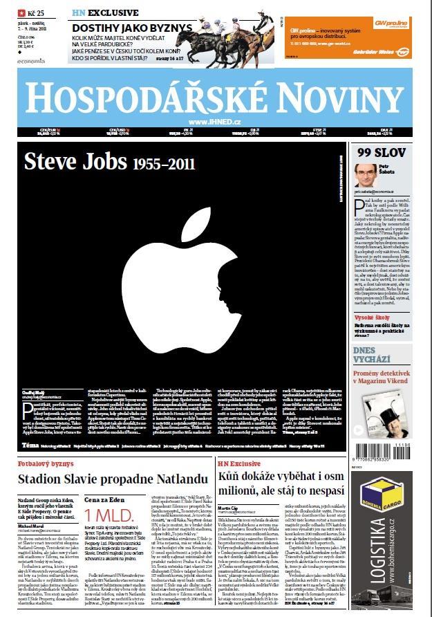 7.10.2011 - Steve Jobs 1955-2011