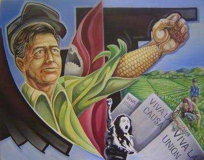 1000 images about cesar chavez quotes on pinterest for Cesar chavez mural