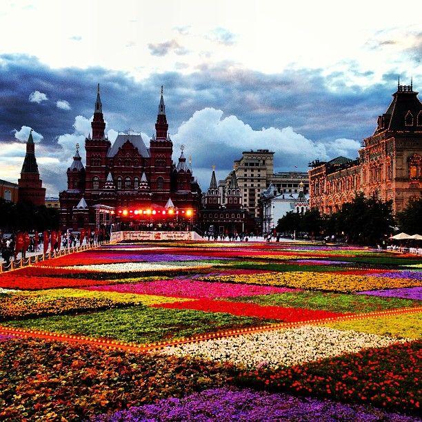 Красная площадь / Red Square in Москва