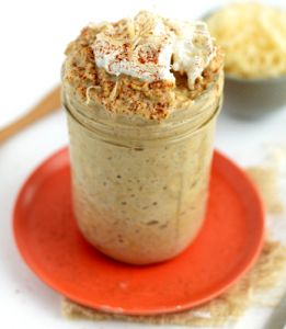 Overnight oats with oat bran