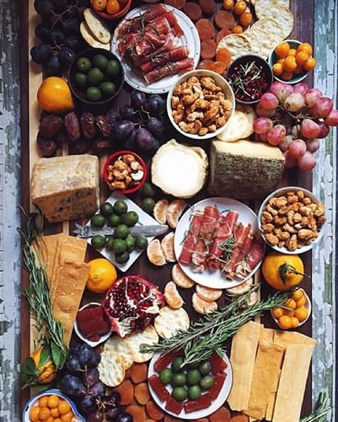 """This amazing #Cheese Board was put together by a (very talented) 7-year old. @feedmedearly must be a very good teacher. Get 100+more recipes & ideas from the Hors D'oeuvre Feed on our Website 