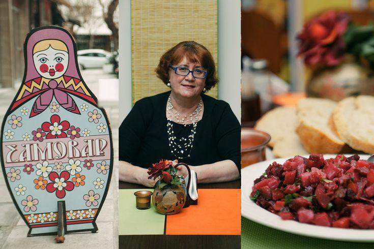 Επειδή μία πρώην σχεδιάστρια αεροπλάνων από τη Σιβηρία έχει ένα αυθεντικό, ρώσικο εστιατόριο