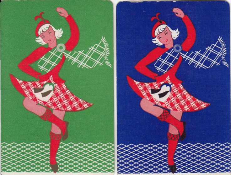Vintage Swap / Playing Card -2 SINGLE-  SCOTTISH GIRL DANCER FOR SALE • $1.89 • See Photos! Money Back Guarantee. 2 Single Playing Cards (NOT DECKS) GOOD CONDITION I will combine postage so request or await your final invoice. 232187459078