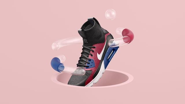 A worldwide celebration of the iconic Air Max.  The three most influential sneaker designers in the world come together to celebrate Air Max Day '16. We worked closely with Nike Sportswear to conceptualise and execute a huge global campaign culminating in events across the world.  We see the unique mechanics of each Nike designer's mind through a series of kinetic sculptures of movement and energy as their vision is brought to reality. Hiroshi: The Editor of Air. Tinker: The Architect of...