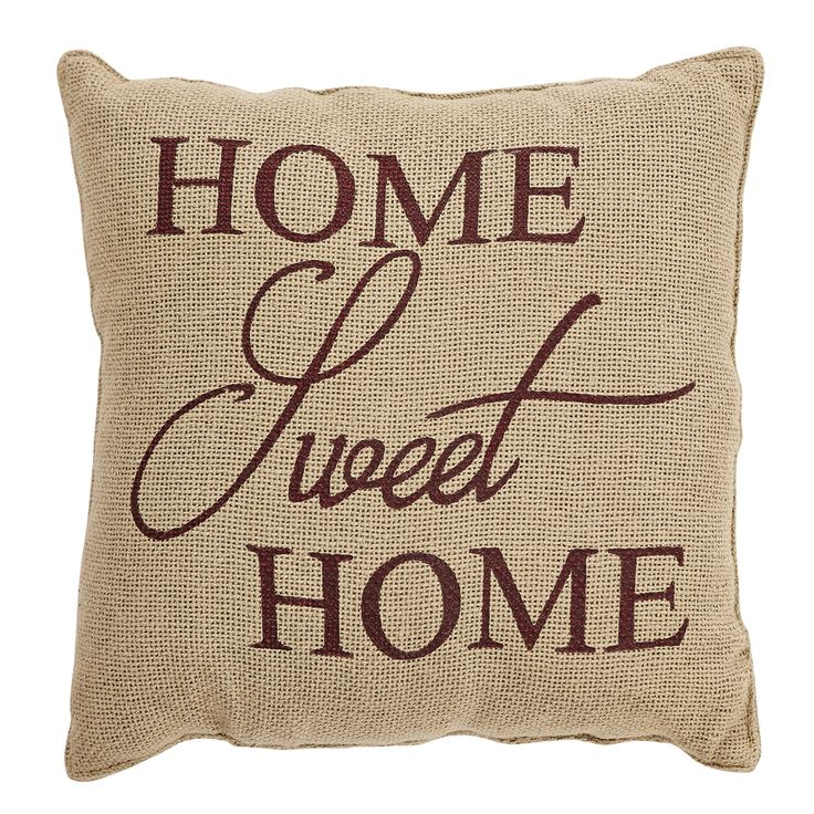 home sweet home 12 pillow - Large Decorative Pillows