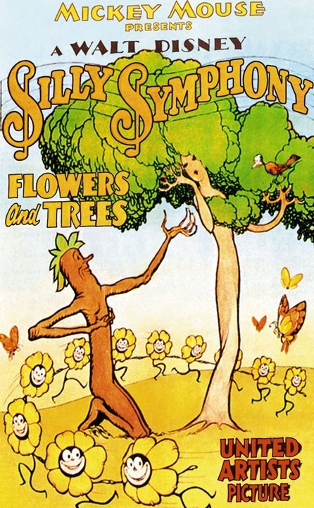 Flowers and Trees Silly Symphony Poster