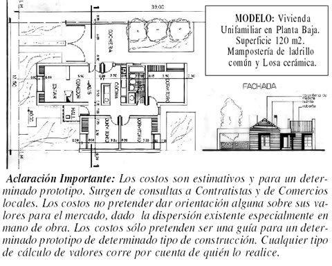 Costos al d a de la construcci n precio por m2 semanario region argentina la pampa - Precio m2 construccion chalet ...