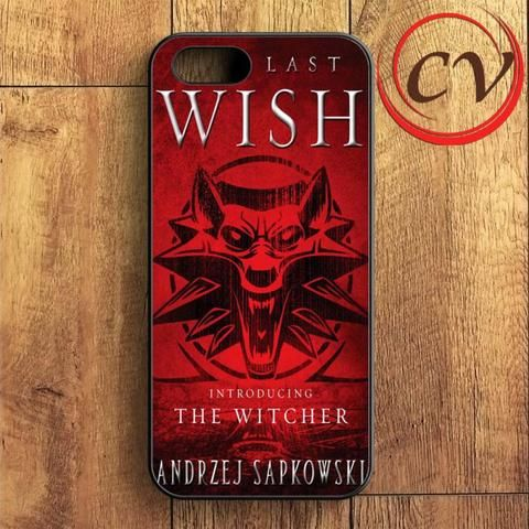 The Last Wish The Witcher iPhone SE Case