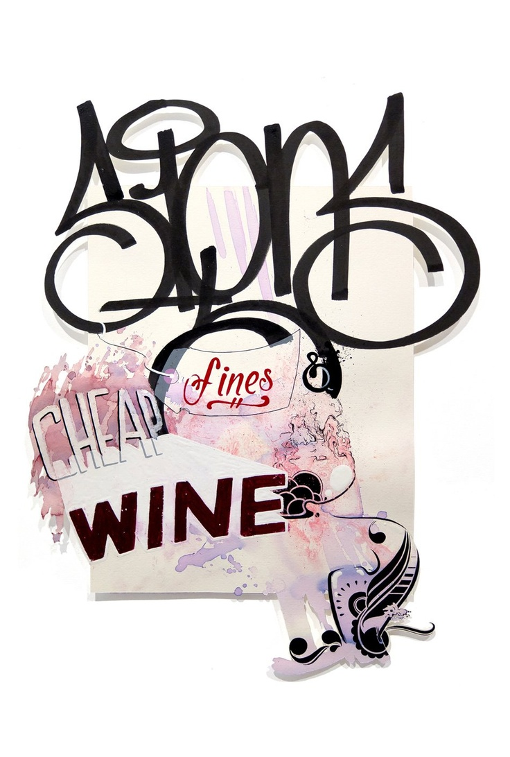 """Recap: Ripo """"Signs, Fines, & Cheap Wines"""" at White Walls Gallery SF - News - 12ozProphet.com"""