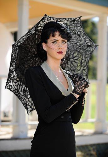 Thinking of yooooooou...  Black All Battenburg Lace Parasol. This is available at www.parasolheaven.com