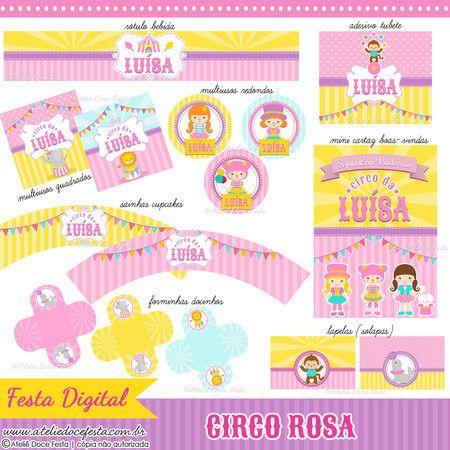 Festa Digital Circo Rosa