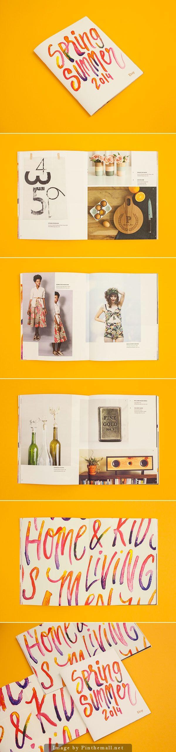 Etsy Spring/Summer Lookbooks
