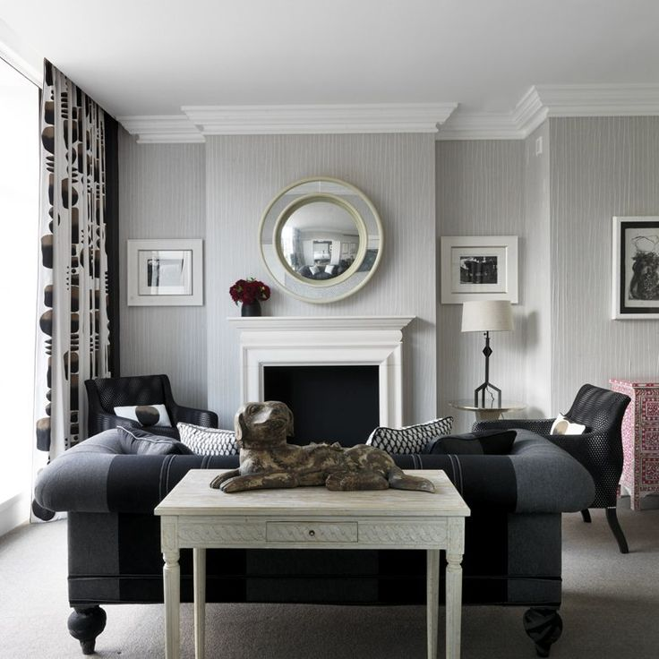 beautiful photos of tim and kit kemps home decor inside their london townhouse and some of their firmdale hotel properties in new york and london - Beaded Inset Hotel Decoration