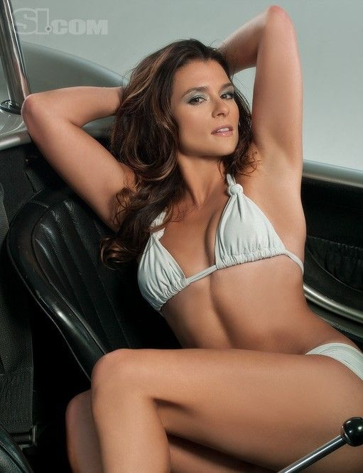sexy hot GoDaddy girl Danica Patrick from Sports Illustrated and Pinterest