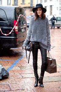 STREET STYLE: MILAN … Recreate with CAbi's Fall '14 Stevie Legging and upcoming Late Release Pullover! www.caraforman.cabionline.com