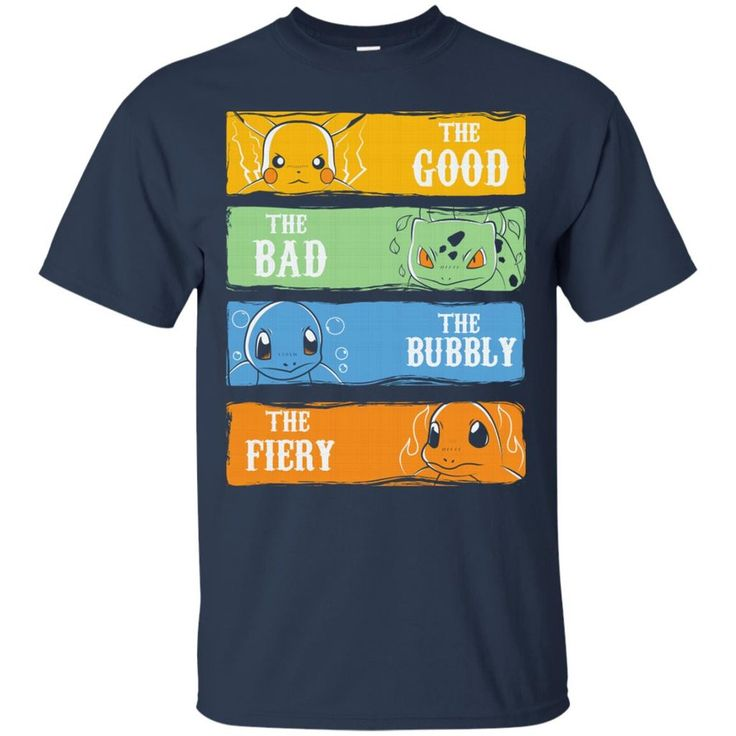 Pokemon T shirts Pikachu The Good The Bad The Bubbly The Fiery T shirts Hoodies Sweatshirts Pokemon T shirts Pikachu The Good The Bad The Bubbly The Fiery T shi