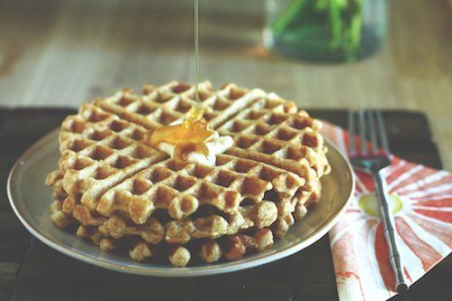 Sweet Potato + Cinnamon Waffles