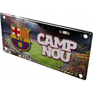 Gezien op Beslist.nl: FC Barcelona metalen bord \'Camp Nou\'