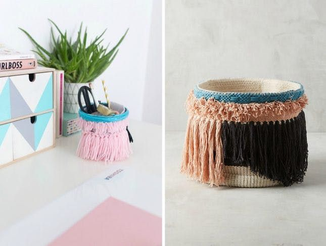 10 Home Decor Hacks from Anthropologies West Coast Modern Collection via Brit + Co