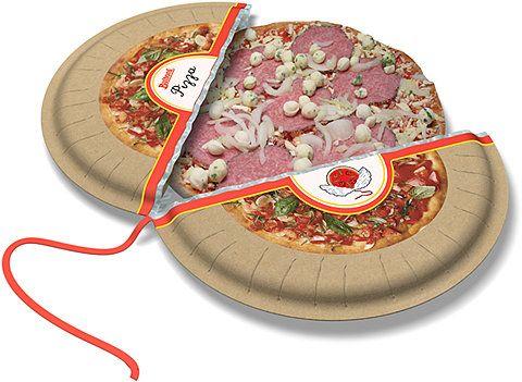 Packaging / frozen pizza concept #dominoscouldexpandmarket #frozendominospizzaideas