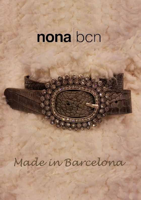 Cinturones artesaneles de piel de Nona barcelona. Un pequeño tesoro
