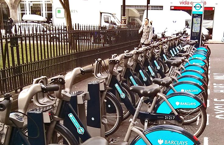 Aluguel de bicicleta em Londres