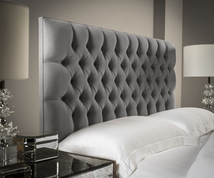Chesterfield Upholstered Headboard | Chesterfield, Chesterfield sofa ...