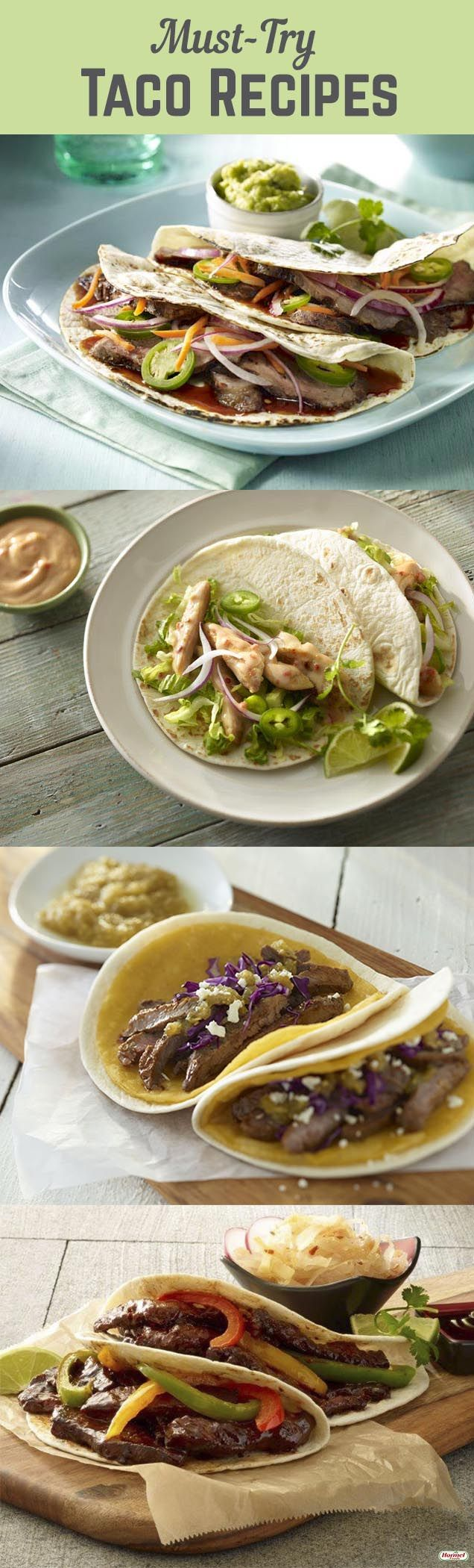 Try these interesting and easy taco recipes to keep taco night fresh.