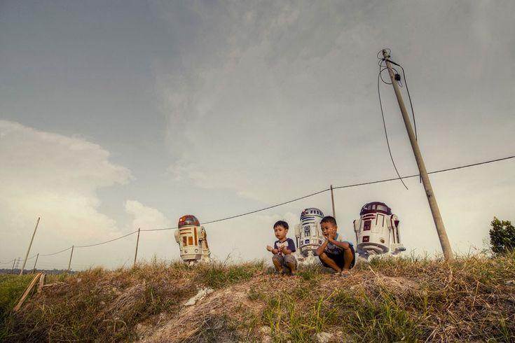 Star Wars em um quintal na Malásia