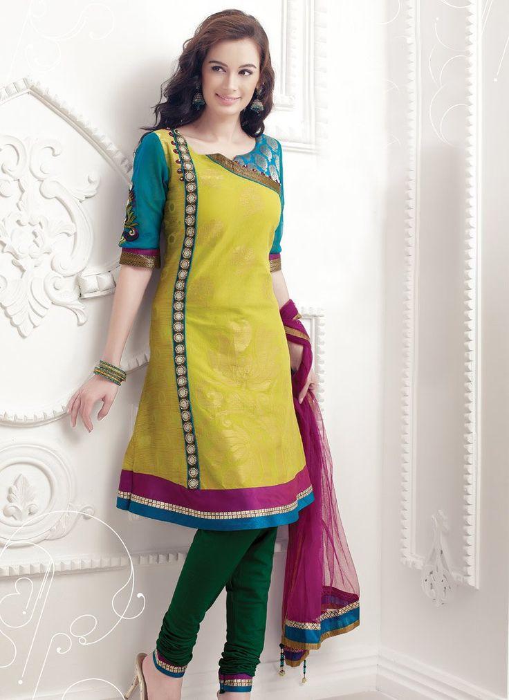 latest salwar kameez neck designs catalogue with border