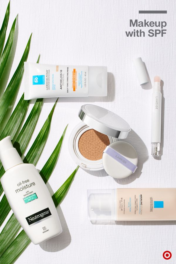 The trick to packing light? Products that do double duty, like makeup and skin care that sneak in sun protection. From Neutrogena Oil-Free Moisturizer with SPF 15 to La Roche-Posay Rosaliac CC Cream with SPF 30 to Laneige BB Cushion with SPF 50, consider yourself covered and your suitcase a lot more manageable.