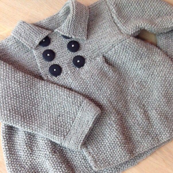 Jakke. Sandnes Garn // Knitted jacket