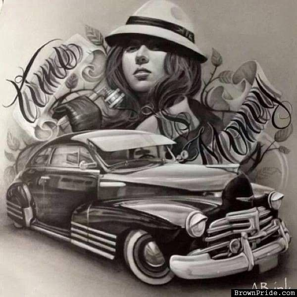 Car Drawings: Best 25+ Lowrider Art Ideas On Pinterest