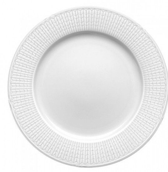 A classic Swedish design, unveiled in 1930 and maintaining its style to this day. Coming in six colours, this tableware still evokes the same emotions as when it was unveiled, the sensation of ears of wheat swaying in the summer breeze.  The grain of wheat pattern can be seen as a metaphor of sustenance, fertility and prosperity coming from the natural world. The elegant monogram has now become a classic symbol of Swedish Grace.