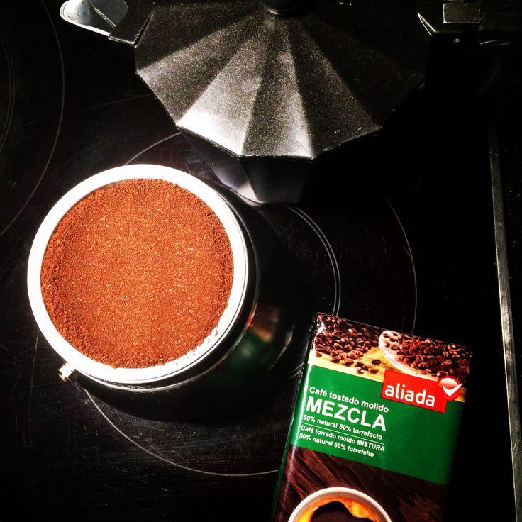 Dedicado a los mas #cafeteros de la casa en mis fogones  siempre uso #cafe tostado #aliada una marca blanca con  nombre propio  #nosvemosenlastiendas mi compra en #supercor by #simbiosc #simbiosctv