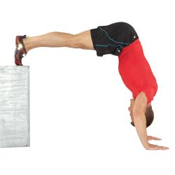 how to train for handstand pushups