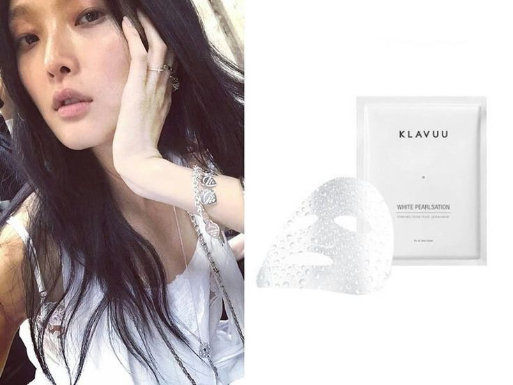"Sunghee Kim""Klavuu's enriched pearl serum mask is really cheap, but so great for brightening my skin."""