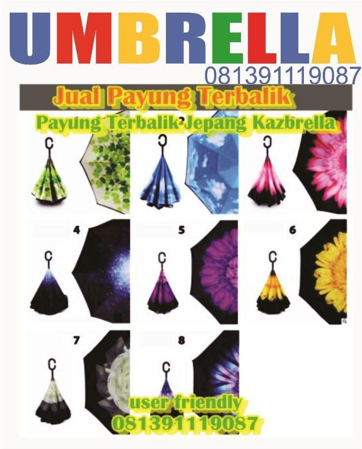 Payung terbalik / Reverse Umbrella /Upside-down umbrella kasbrella berbagai macam motif atau Payung terbalik Polos kunjungi situs berikut :www.payunggift.blogspot.com