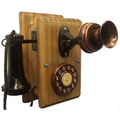 Telefone Antigo Nelphone De Parede Frete Grátis - R$ 225,00 no MercadoLivre