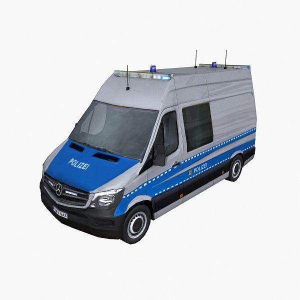 Photorealistic Mercedes Sprinter 2014 3D Max - 3D Model