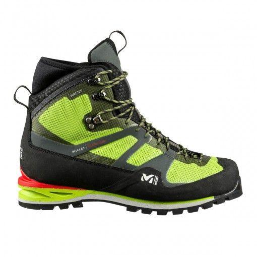 CHAUSSURES ELEVATION GORE-TEX® MILLET La chaussure d'alpinisme Elevation GTX est la référence technique pour l'engagement en haute montagne. Un modèle qui allie légèreté, précision et rigidité performante pour le cramponnage, à un confort sans égal en marche alpine...