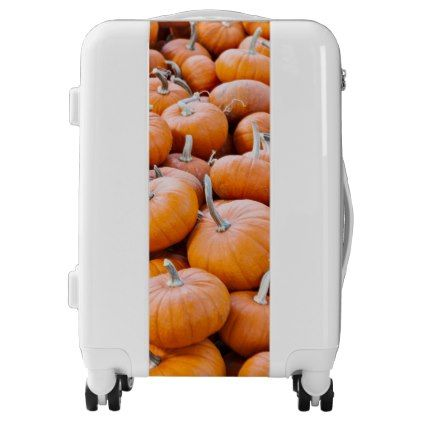 #Minature Pumpkins Luggage - #custom #luggage #suitcase #suitcases #bags #trunk #trunks