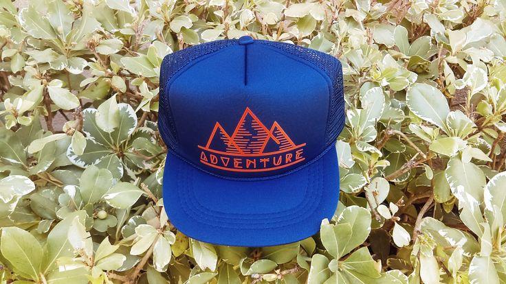Baby Trucker Hat, Blue, Adventure Mountain Hat, Outdoor Life
