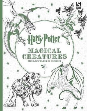Harry Potter Magical Creatures Colouring Book Download Read Online Pdf EBook For Free